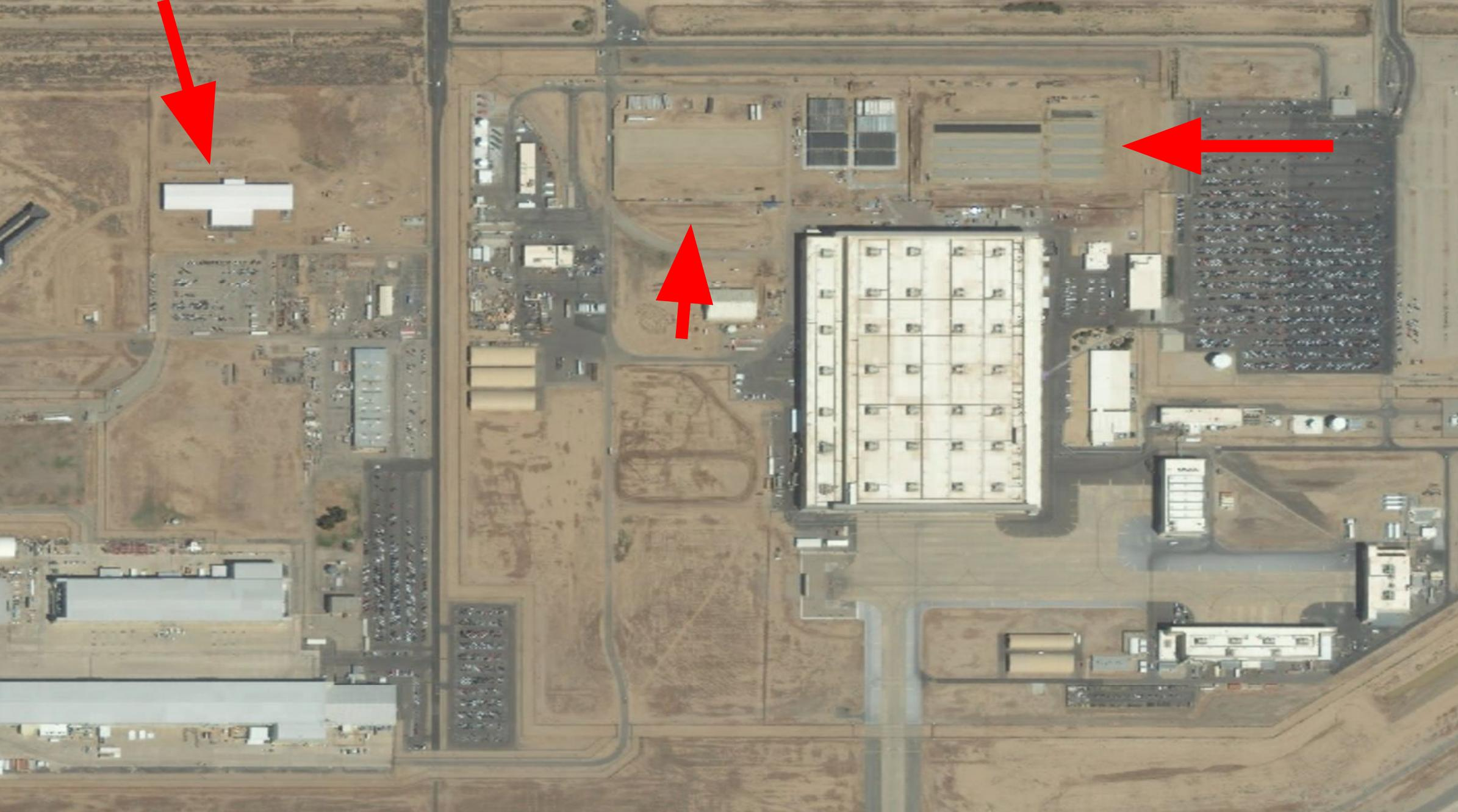 New Plant Former S 3 And S 4 At Northrop Grumman S Facility At