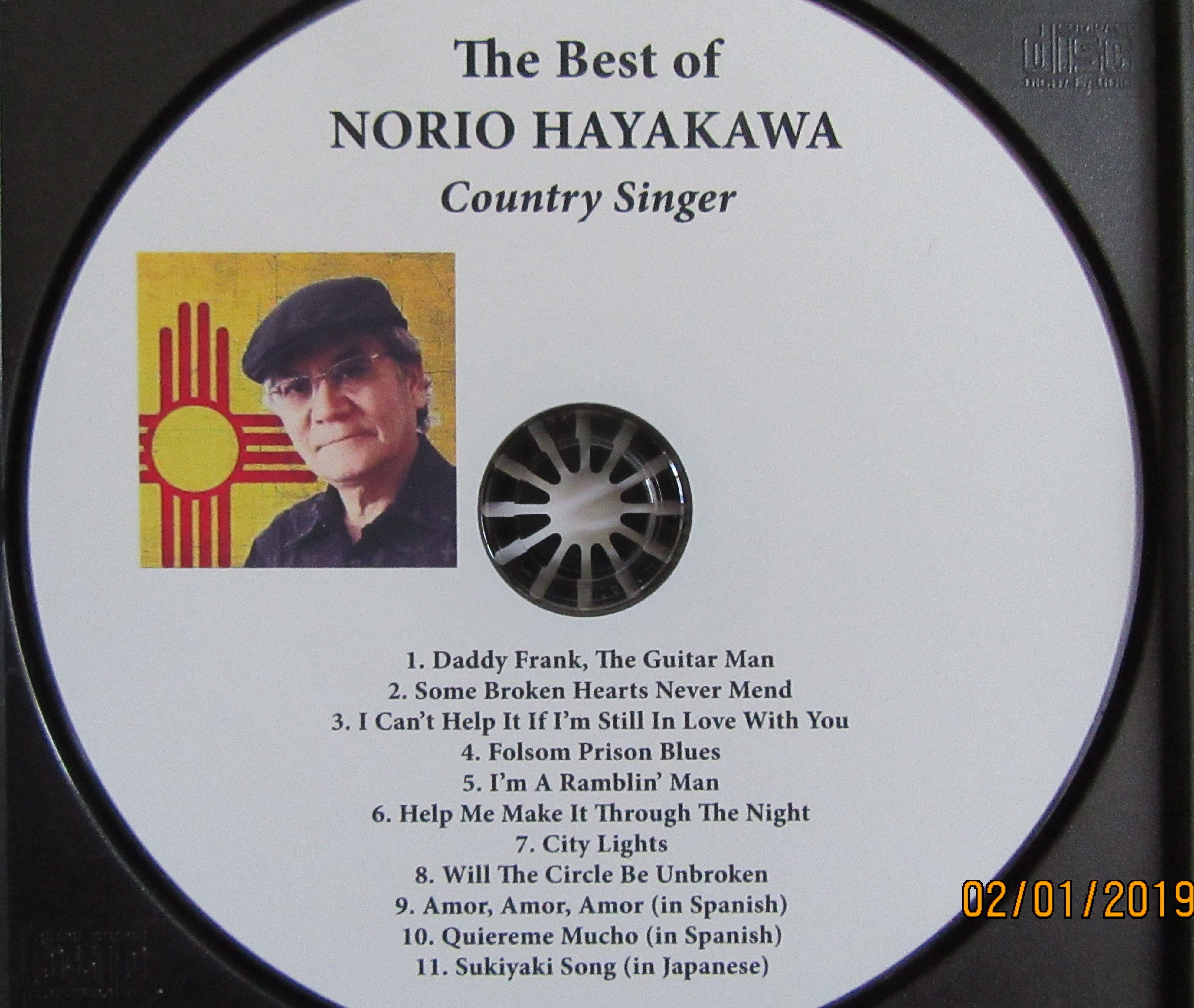 Selections from new CD Album by Norio Hayakawa, country